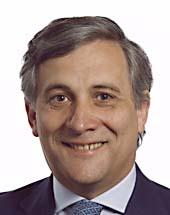 Antonio Tajani - Presidente Consiglio Europa Roma