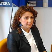 Adriana Violetto - Assessore Igiene e sanità pubblica; Politiche per la sostenibilità e per la tutela ambientale; Impianti cimiteriali; Agricoltura; Tutela animali; Patrimonio; Contenzioso. Matera